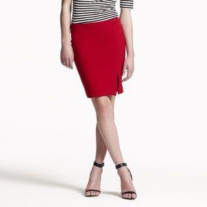 Bec & Bridge Australia Vida pink zip slit skirt 2